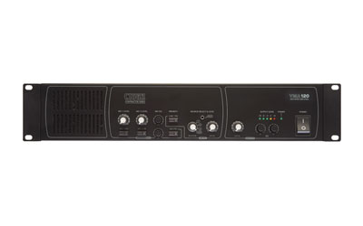 CLOUD VMA120 MIXER AMPLIFIER 120W, 25/70/100V/4ohm, 3x line in, 2x mic in, 1x mono output
