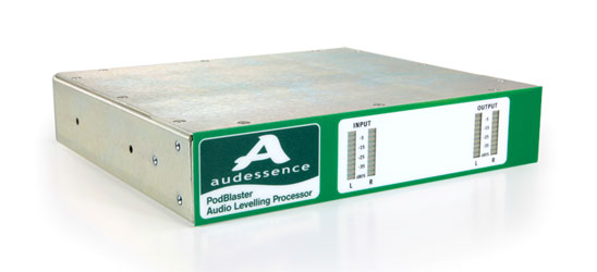 AUDESSENCE PODBLASTER AUDIO LEVEL CONTROLLER