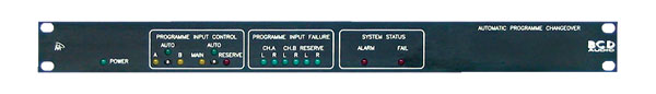 BCD APCU PROGRAMME MONITOR AND CHANGEOVER SWITCHER