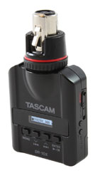 TASCAM DR-10X PLUG-ON MICROPHONE RECORDER