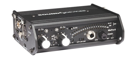SOUND DEVICES MIXPRE-D MICROPHONE PREAMPLIFIER / MIXER Dual bus, 2