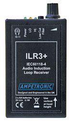 AMPETRONIC ILR3+ Loop receiver, LED status