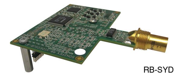 SONIFEX RB-SYD SYNC CARD HD-SDI, SD-SDI, for RB-SC2, RB-TGHDX, RB-TGHDB