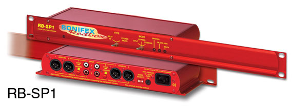 SONIFEX RB-SP1 DIGITAL SPLITTER AND COMBINER 1U rackmount