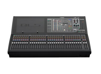 YAMAHA QL5 MIXER Digital, DANTE, 32 mono/8 stereo inputs, 16 mix/8 matrix busses, 32+2 faders