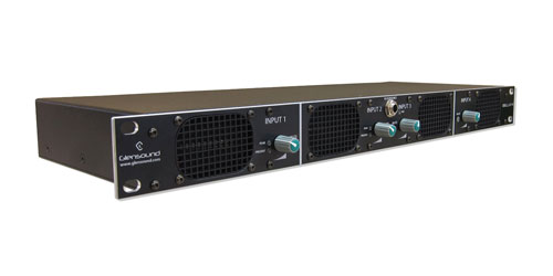 GLENSOUND BELLA 4 AUDIO MONITOR 4-input, 4 loudspeakers, Dante/AES67, 1U rackmount
