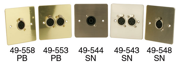 CANFORD CONNECTOR PLATES - With connectors