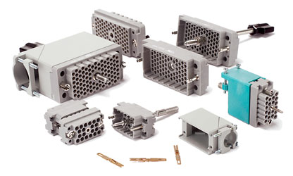 EDAC MULTIPIN CONNECTORS