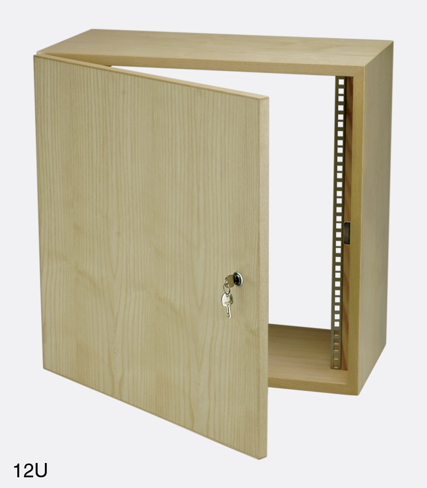 Wooden Wall Boxes : Canford wallbox wall racks with optional door wooden