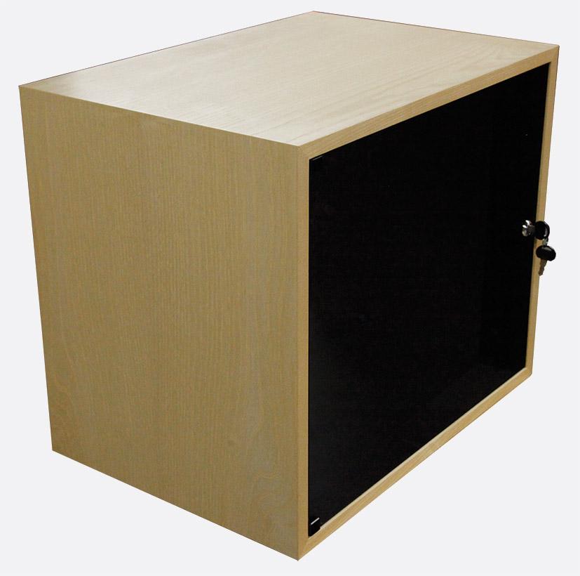 CANFORD ES4154010/A DESKTOP SURFACE Pod 10U, Acrylic Door