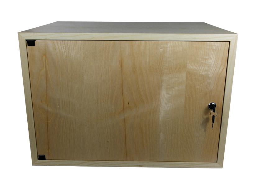 CANFORD ES4154008/A DESKTOP SURFACE Pod 8U, solid door, 400mm deep, Ash