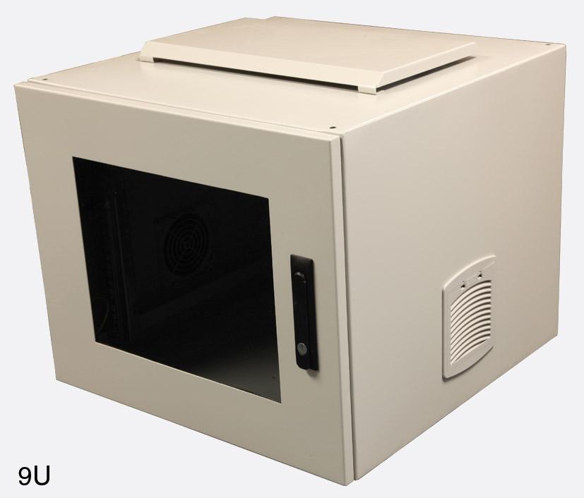 Canford Es4546009 G L Wall Rack Cabinet Ip54 9u 600d
