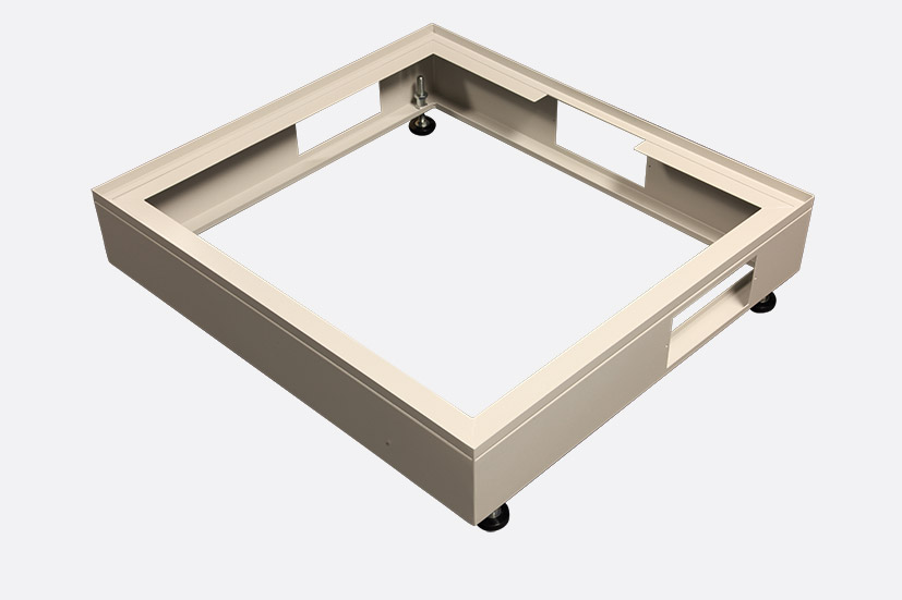 ENCLOSURE SYSTEMS 4343740/G RACK CABINET PLINTH Grey