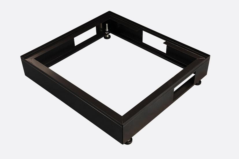 ENCLOSURE SYSTEMS 4343740/B RACK CABINET PLINTH Black