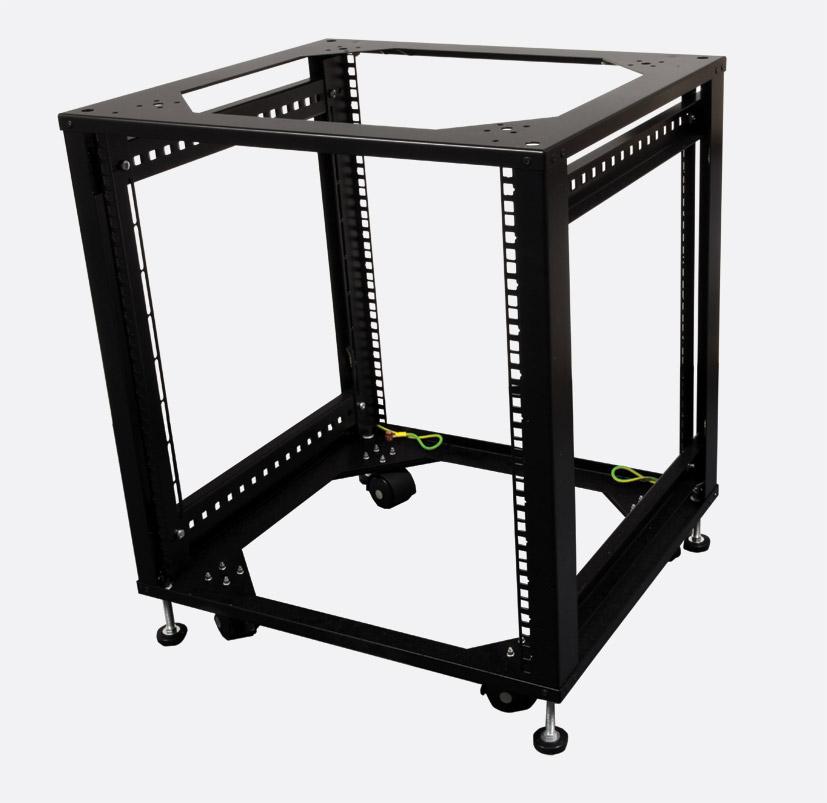 Enclosure Systems 5035512 Credenza Open Rack 12u 550 Wide