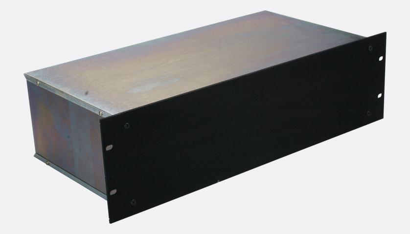 Rackcase Rackmount Universal Case 3u 230mm Deep Black