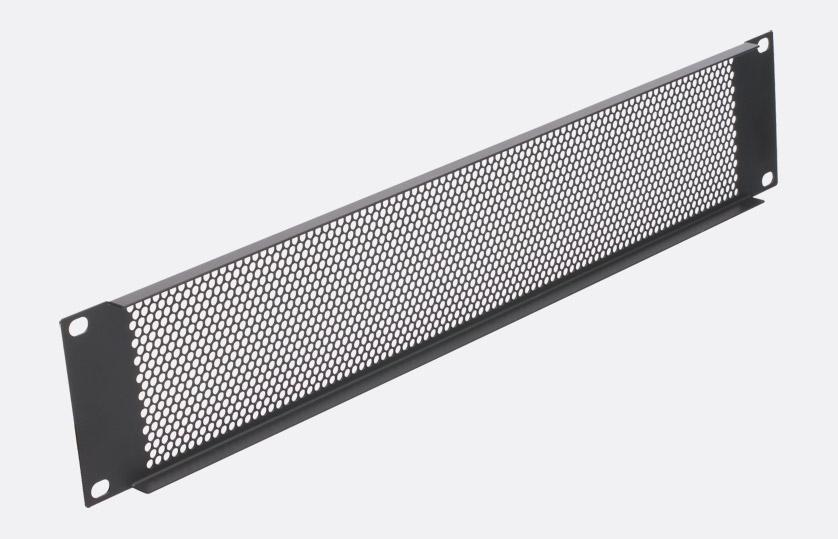Rackvent Rack Ventilation Panel 1u Steel Perforated