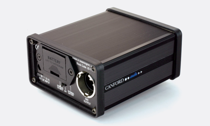 Canford Phantom Power Supply P48 And Ab T Pp3 Battery