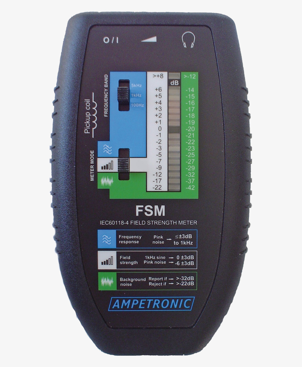 Ampetronic Fsm Field Strength Meter For Induction Loops