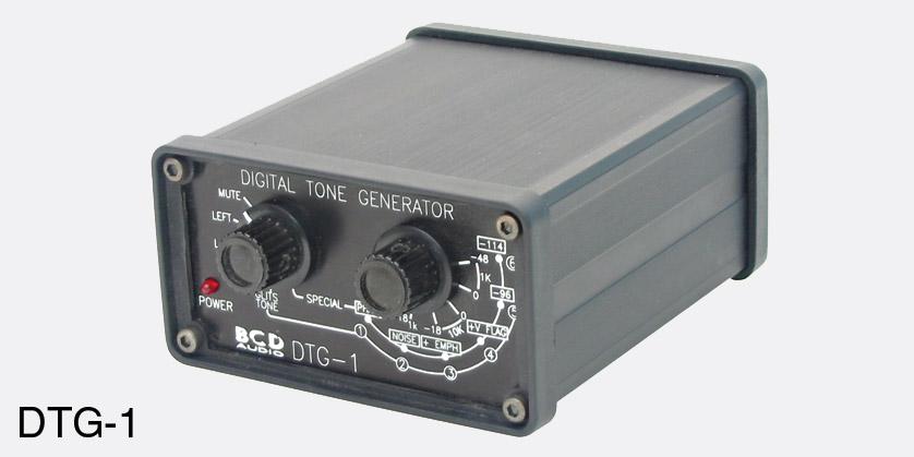 Audio Signal Generator : Bcd dtg digital tone generator