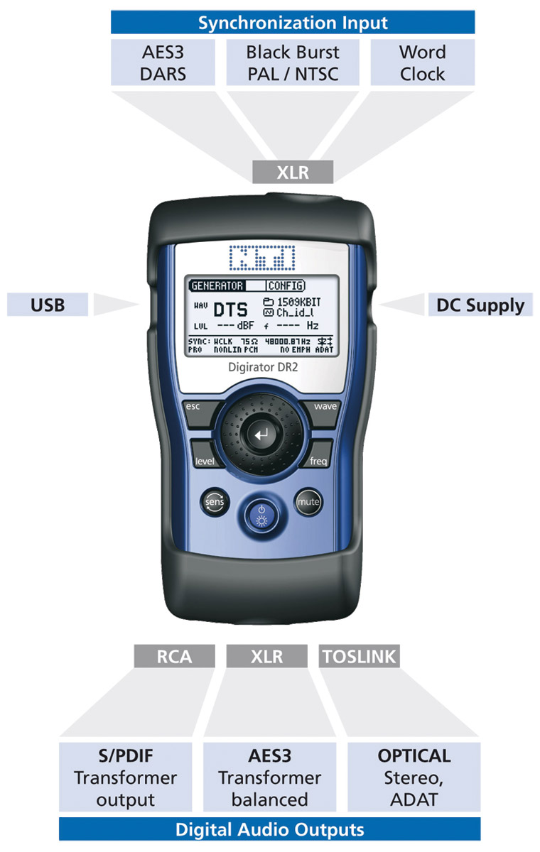 Audio Signal Generator : Nti mr pro minirator signal generator analogue audio with