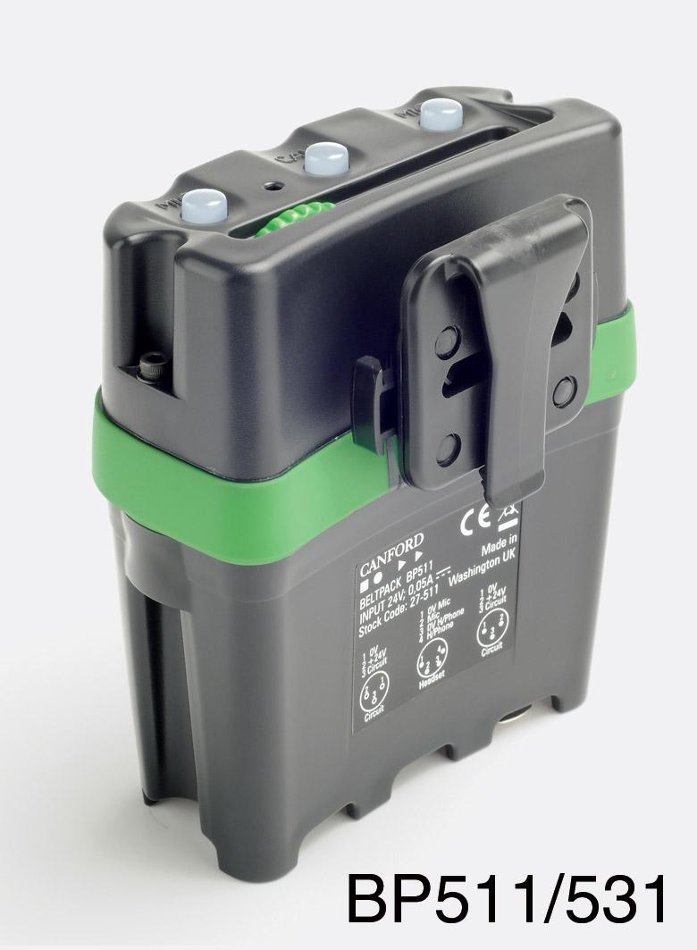 tecpro bp511 single circuit beltpack xlr 3 connectors rh canford co uk