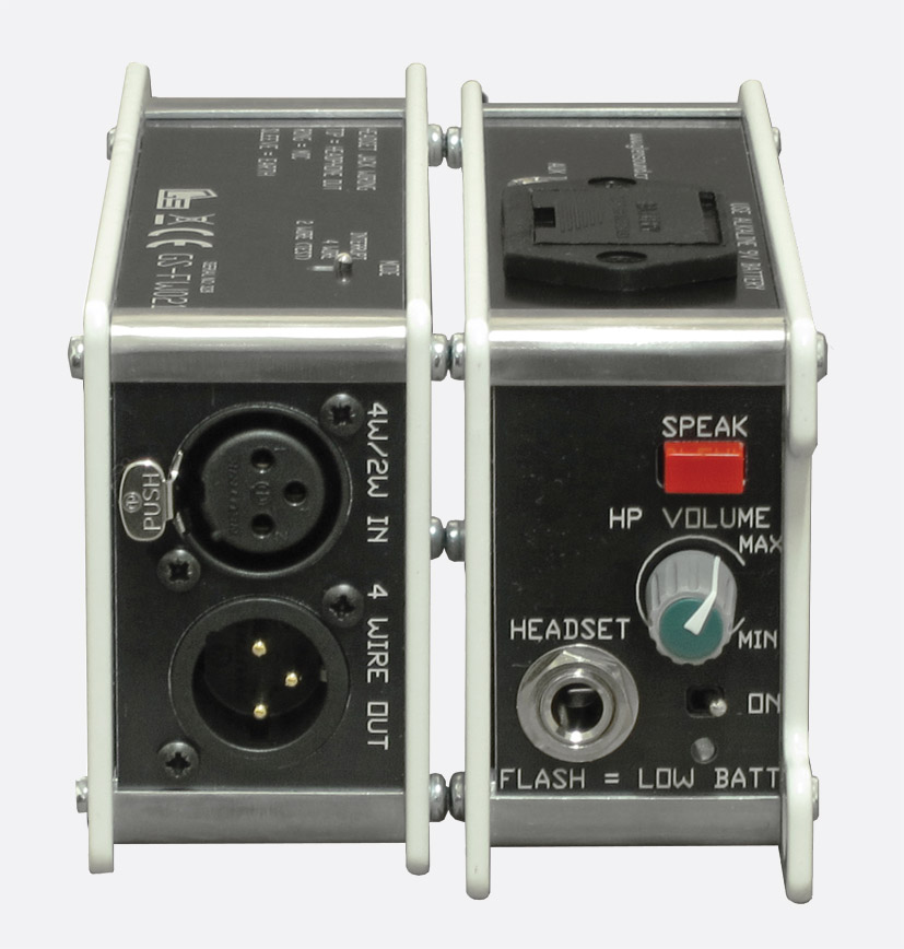 glensound gs fw021 intercom beltpack single 4w circuit ifb glensound gs fw021 intercom beltpack single 4w circuit ifb 1x mono aux in