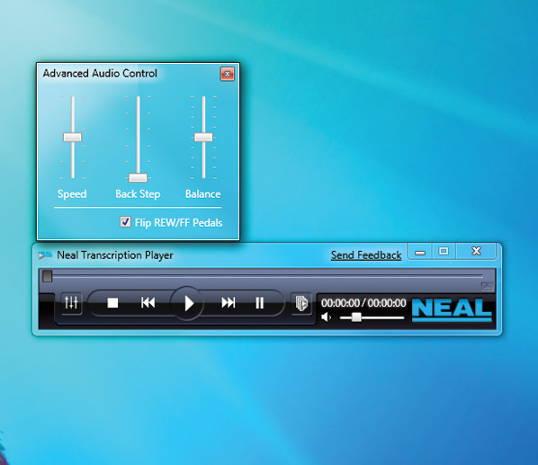 NEAL TRANSCRIPTION PLAYER SOFTWARE - Canford