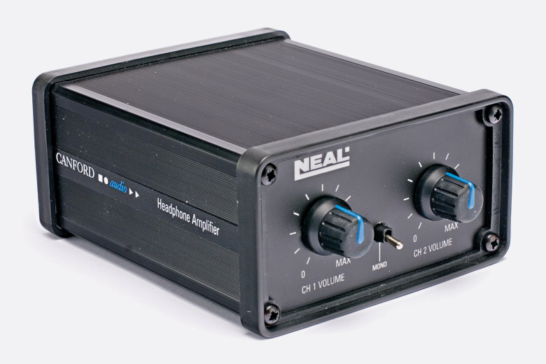 neal pc headphone amplifier a gauge and 2 channel mono switch. Black Bedroom Furniture Sets. Home Design Ideas