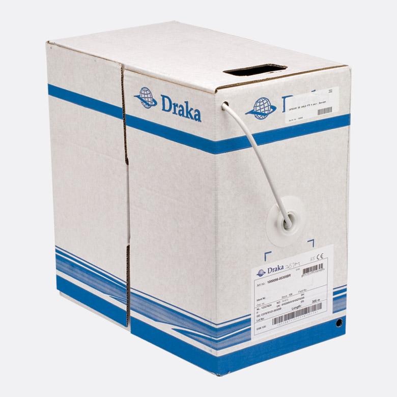 Draka Category 5e Cable U Utp Uc300 24 Grey Box Pak Of