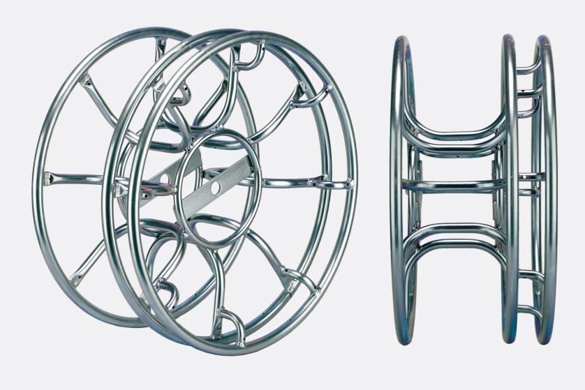 Skeleton cable reel m triple flange smpte fibre