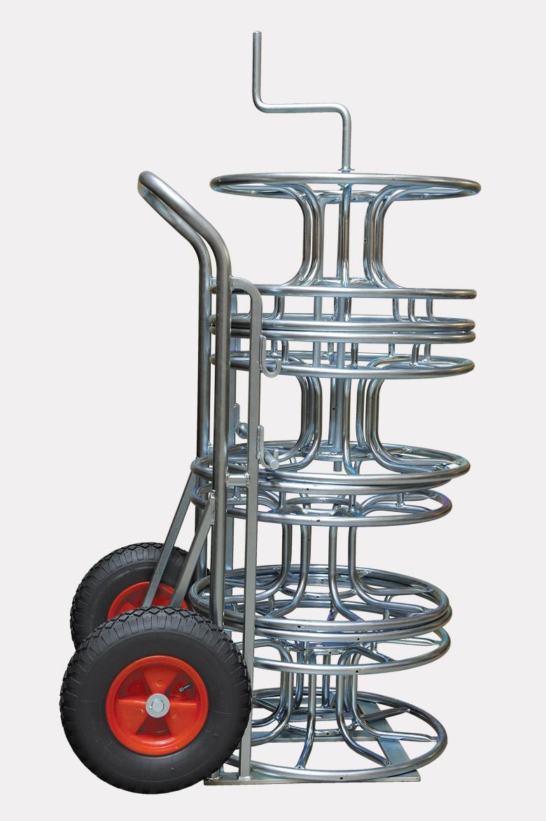 Skeleton Cable Reel Trolley Steel Zinc Plated