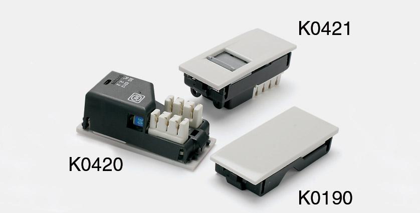 Mk K0545whi Modular System Rj45 Socket