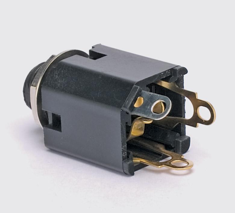 switchcraft b gauge jack socket panel mount 3 circuit. Black Bedroom Furniture Sets. Home Design Ideas