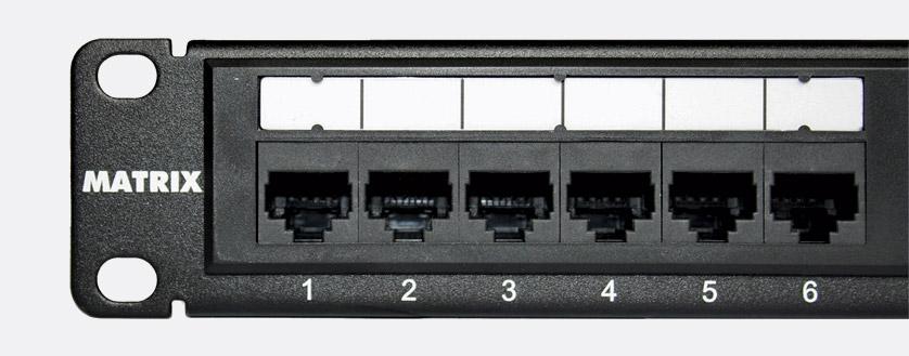 rj45 audio wiring matrix cat6    rj45    patch panel 1u 24 way  unshielded  matrix cat6    rj45    patch panel 1u 24 way  unshielded