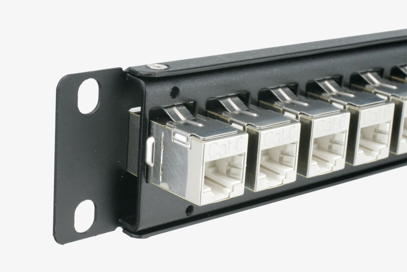 Rj45 cable crimping patching panels curtains