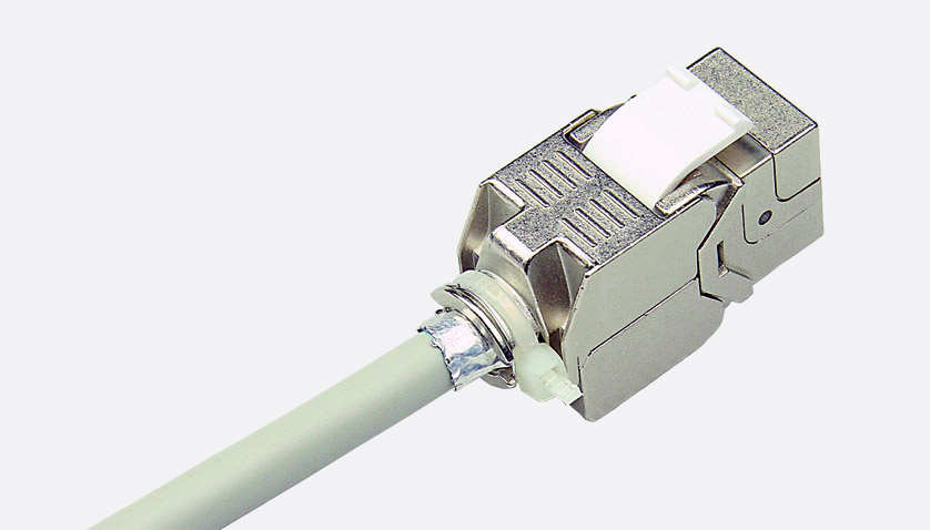 Matrix Cat6a Rj45 Keystone Connector Module