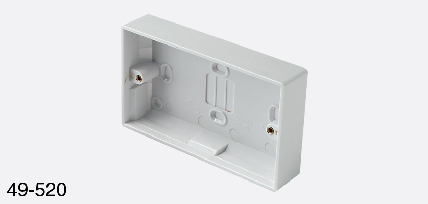2-Gang Surface Box