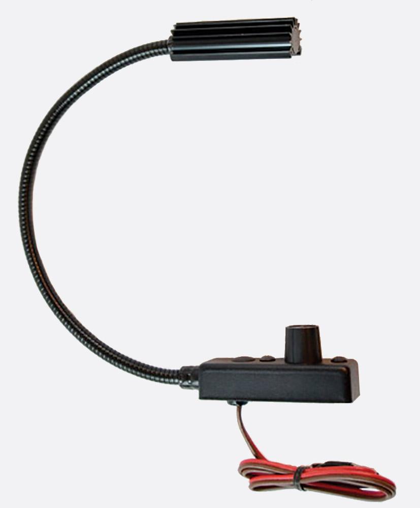 Littlite Gooseneck Lamps Lamp Sets Automotive Canford Hardwire Adapt Monitor Pwr From Cigarette Lighterwiringjpg L 5 12 Lampset Inch Halogen Bulb Dimmer