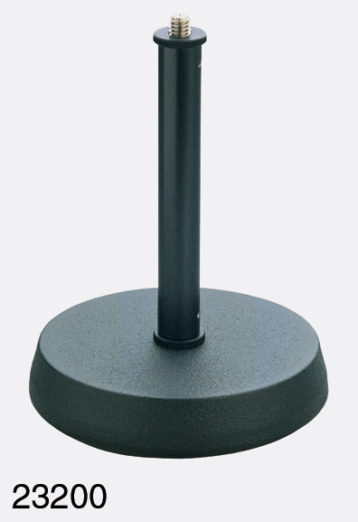 K Amp M 232 Table Stand Round Cast Iron Base With Anti