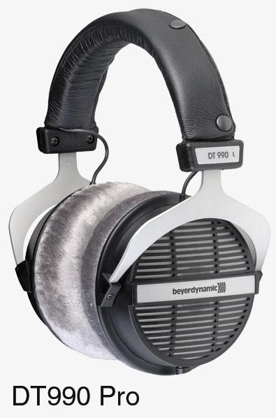 beyerdynamic dt 990 pro headphones 250 ohms open back. Black Bedroom Furniture Sets. Home Design Ideas