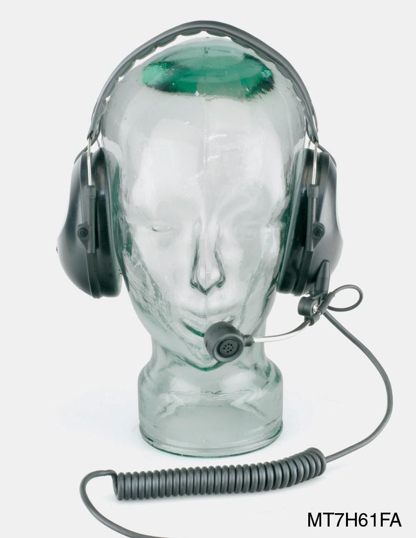 peltor mt7h61fa headset ear defending, with 4 pin female xlr
