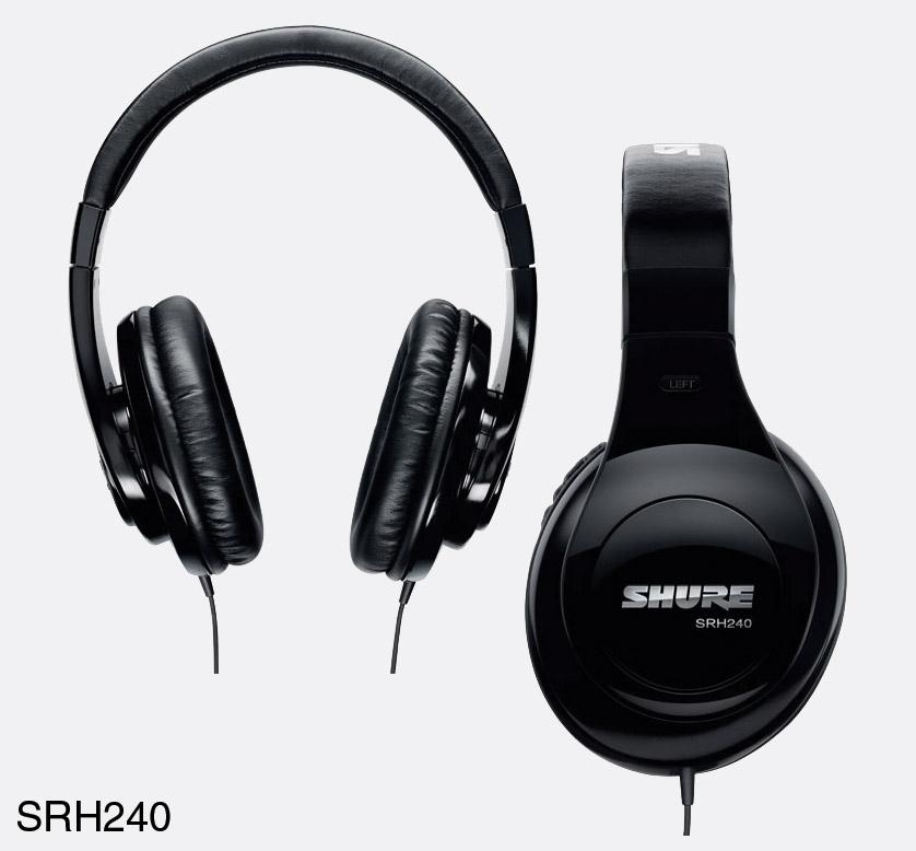 Shure SRH240 Black