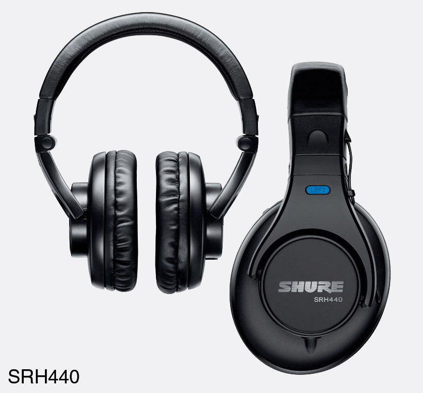 SHURE SRH440-EFS HEADPHONES Closed 410324e3ca767