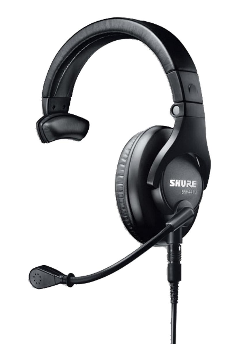 Shure Brh441m Headset Single Ear 300 Ohms 200 Ohm
