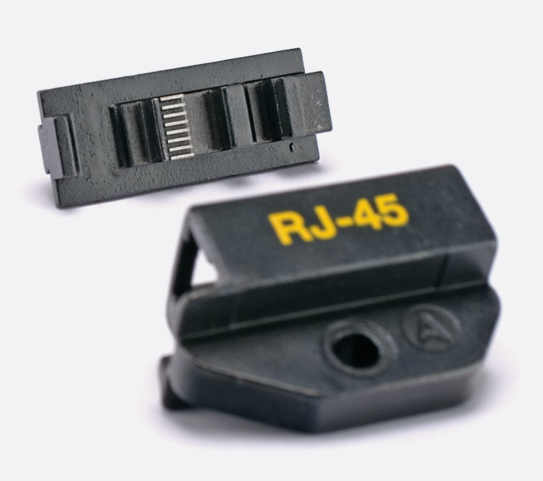 tuk td88 die set for rj45 crimp tool cat5e plugs. Black Bedroom Furniture Sets. Home Design Ideas