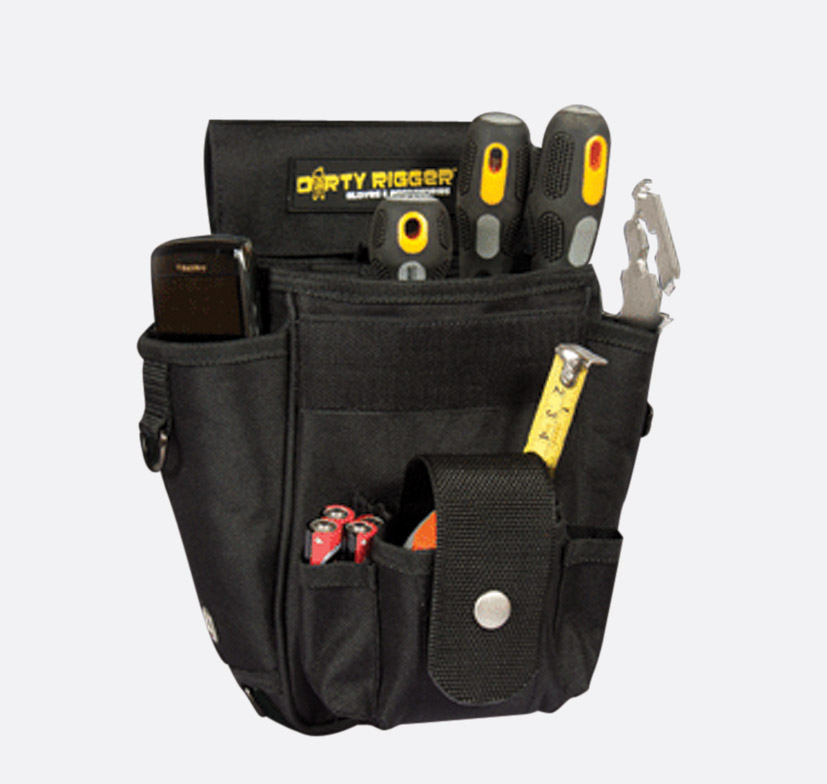 dirty rigger technicians tool pouch. Black Bedroom Furniture Sets. Home Design Ideas