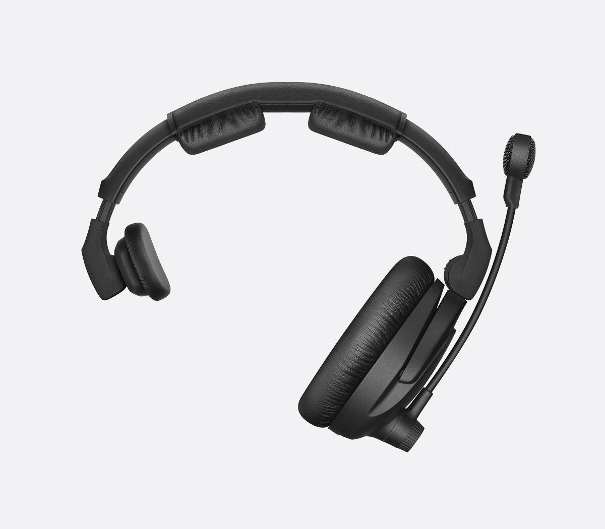 aeb1f2fb400 SENNHEISER HMD 301 PRO HEADSET Single ear 64 ohms, 300 ohm dynamic mic,  without cable