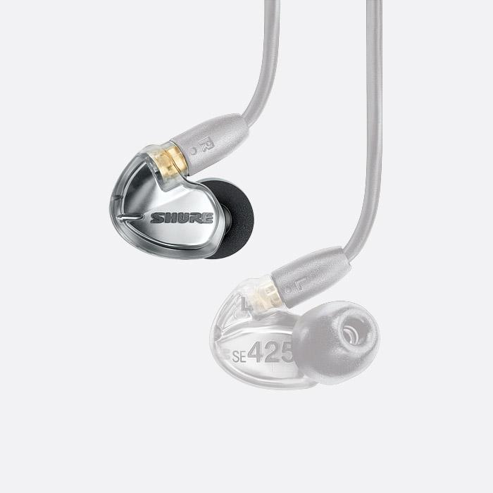 96c3e896d40 SHURE SE425-V-RIGHT SPARE EARPHONE For SE425, silver