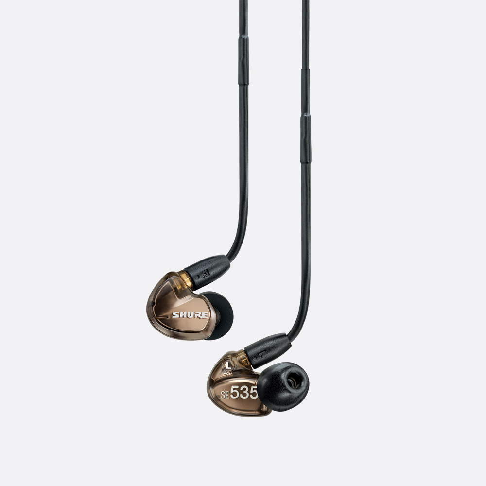 shure in ear monitors - earphones